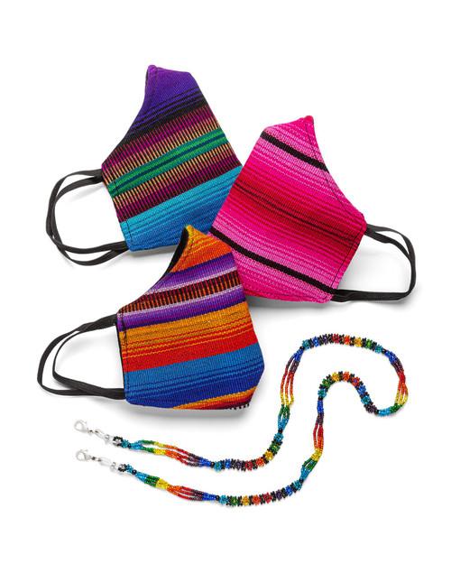 Guatemalan Masks - Set of 3 View Product Image