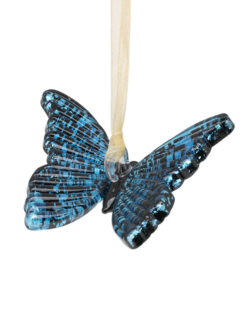 Blue Butterfly Ornament View Product Image