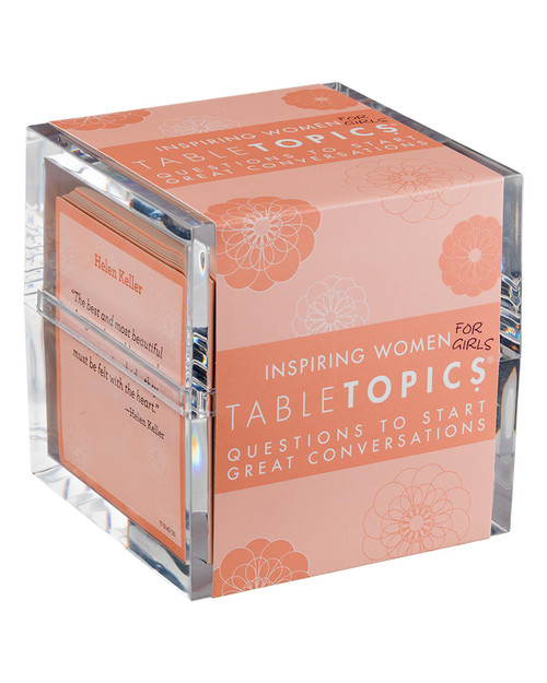 TableTopics® Inspiring Women For Girls View Product Image