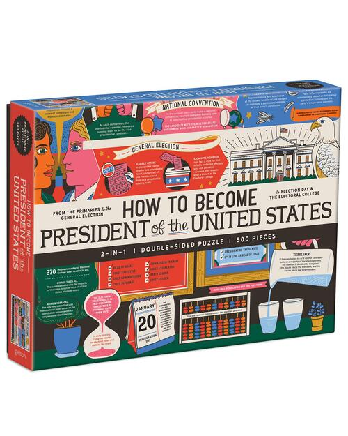 How to Become President of the United States Double-Sided Puzzle View Product Image