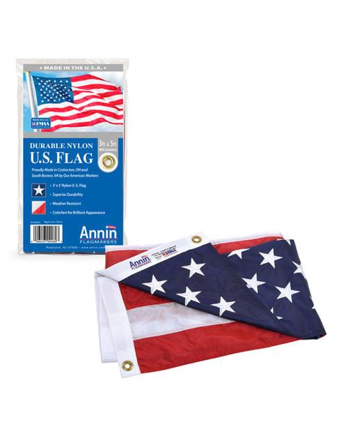 Durable Nylon U.S. Flag View Product Image