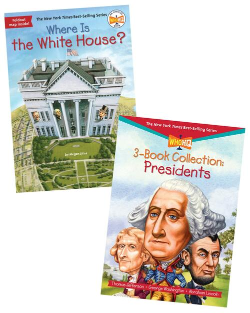 Where is the White House? & 3-Book Collection: Presidents View Product Image