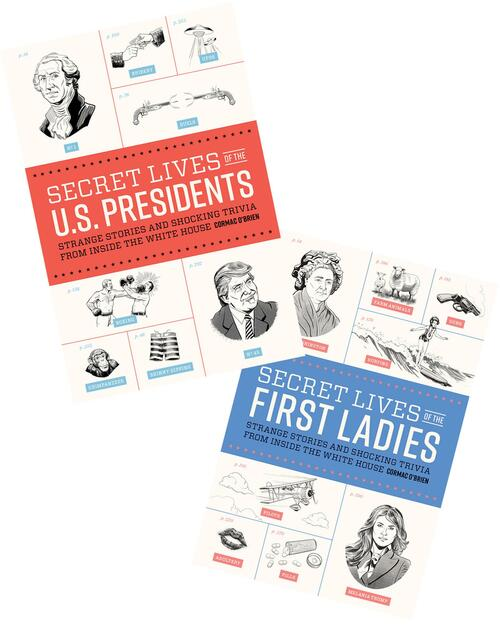 Secret Lives of the U.S. Presidents & Secret Lives of the First Ladies View Product Image