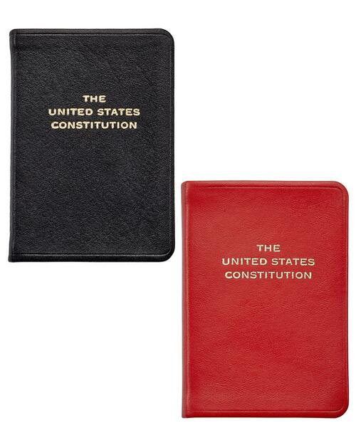 Mini Leather U.S. Constitution View Product Image