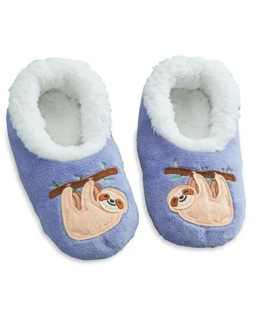 Women's Sloth Slippers View Product Image