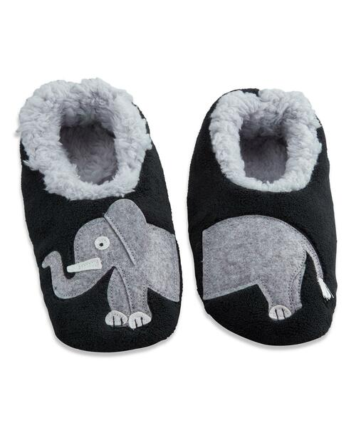 Women's Elephant Slippers View Product Image