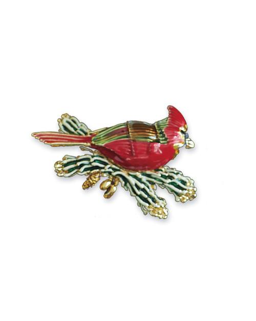 Smithsonian Holiday Cardinal Pin View Product Image