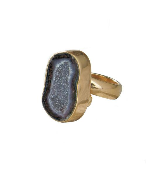 One-of-a-Kind Geode Ring View Product Image