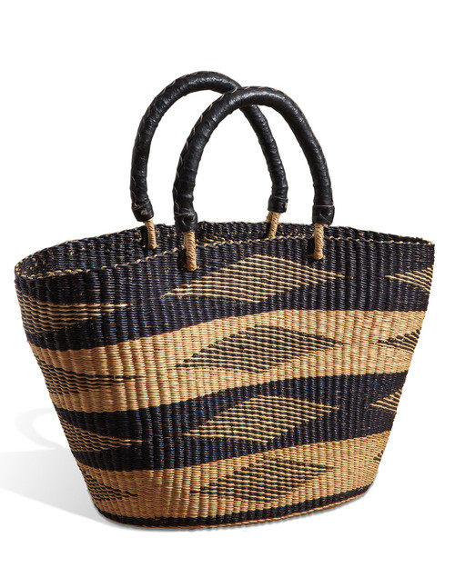 Black Diamond Woven Tote View Product Image