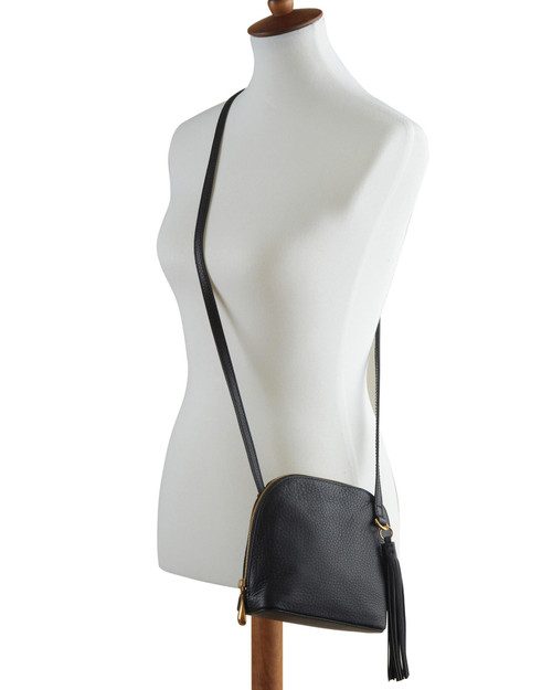 Hands-Free Leather Crossbody View Product Image