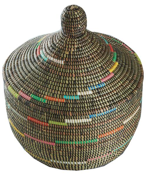 Rainbow Spiral Warming Basket View Product Image