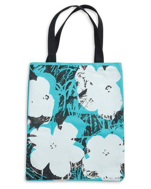 Andy Warhol Poppies Tote Bag View Product Image