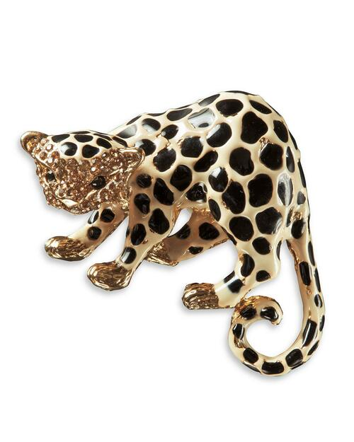 Enamel Leopard Pin View Product Image