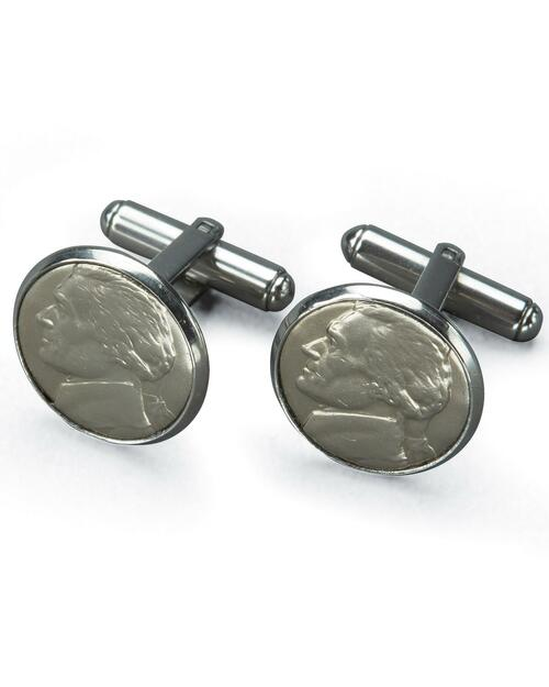 Jefferson Nickel Cuff Links View Product Image