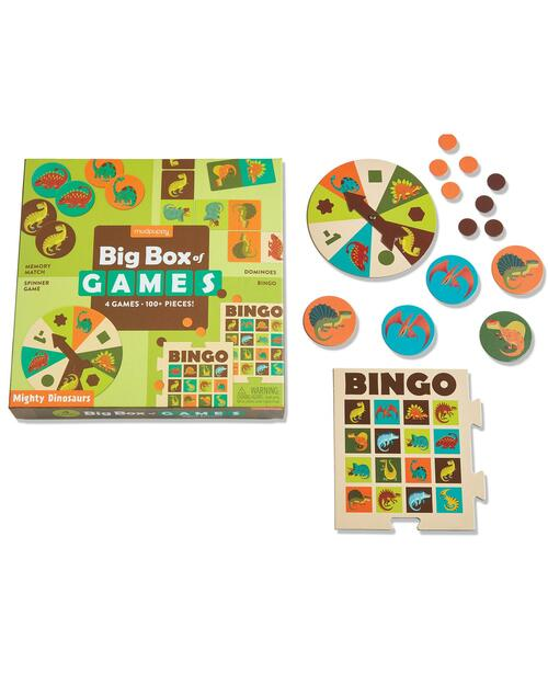 Mighty Dinosaurs Big Box of Games View Product Image