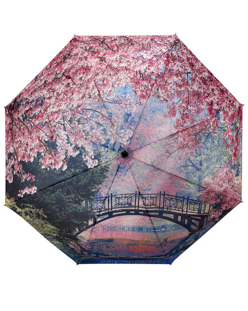 Cherry Blossoms Umbrella View Product Image