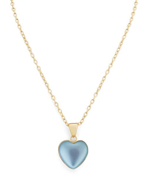 Alchemia Luminite Heart Pendant Necklace View Product Image