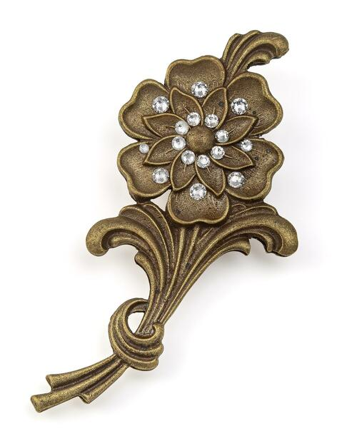 Flower Spray Pin View Product Image