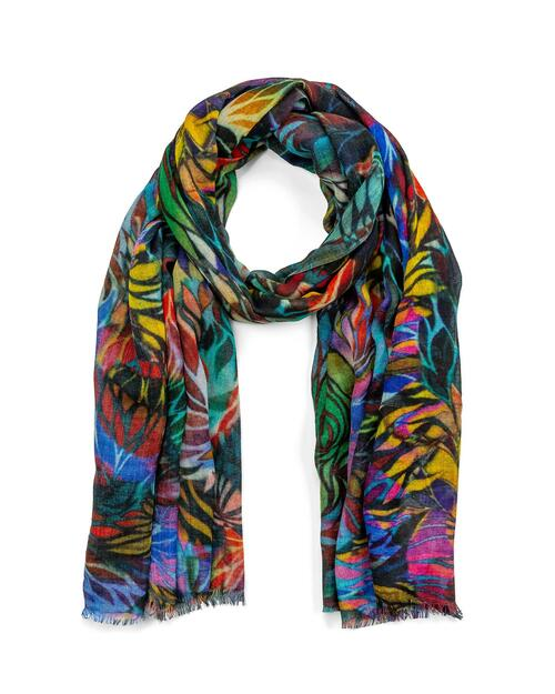 Colorful Petals Scarf View Product Image