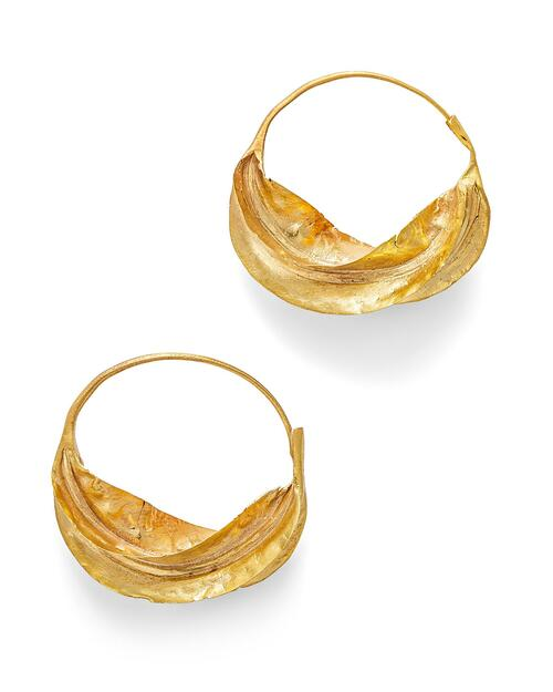 Golden Fulani Earrings View Product Image