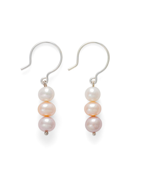 Pastel Pearls Earrings View Product Image