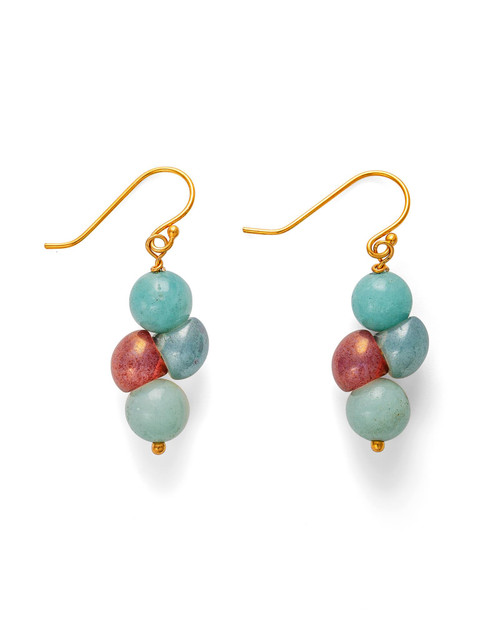 Czech Beads Earrings View Product Image