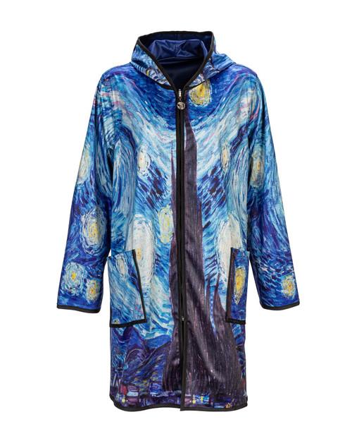 Night Sky Reversible Raincoat View Product Image