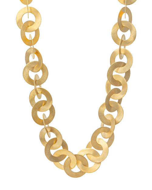 Golden Loop Necklace View Product Image