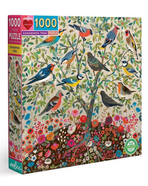 Songbirds Tree Puzzle View Product Image