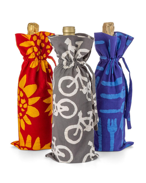 Wine Bags - Set of 3 View Product Image