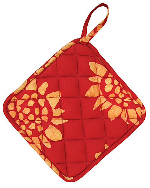 Sunflower Print Pot Holder View Product Image