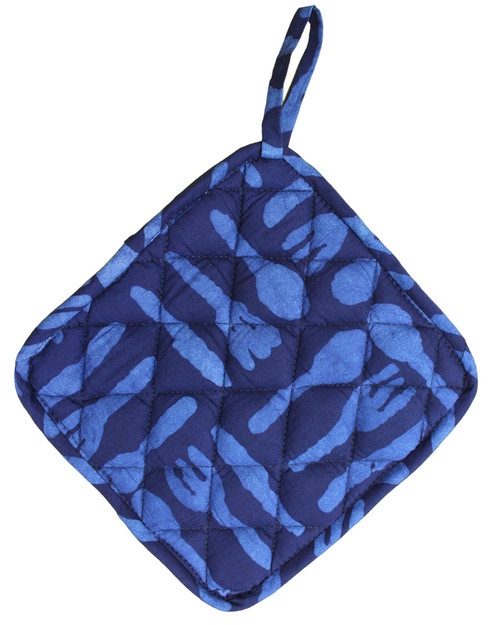 Silverware Print Pot Holder View Product Image