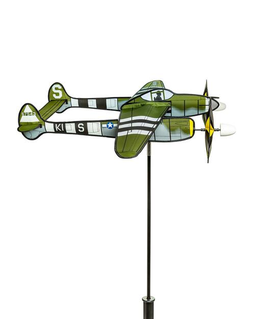 P-38 Lightning Airplane Spinner View Product Image