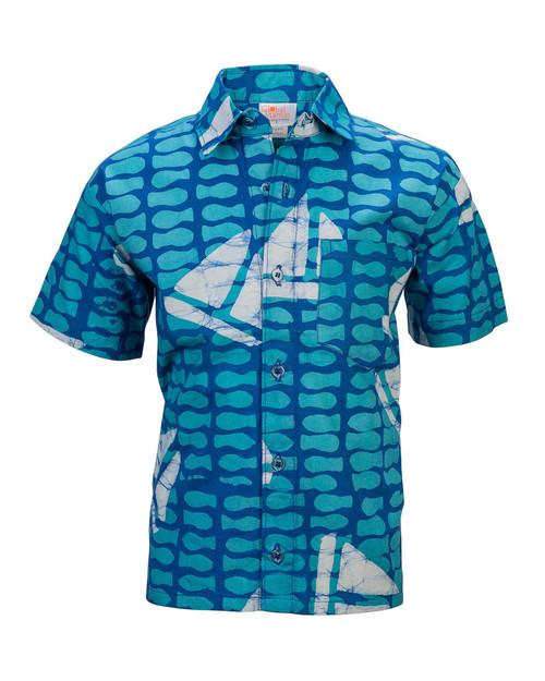 Sailboat Kids Shirt View Product Image