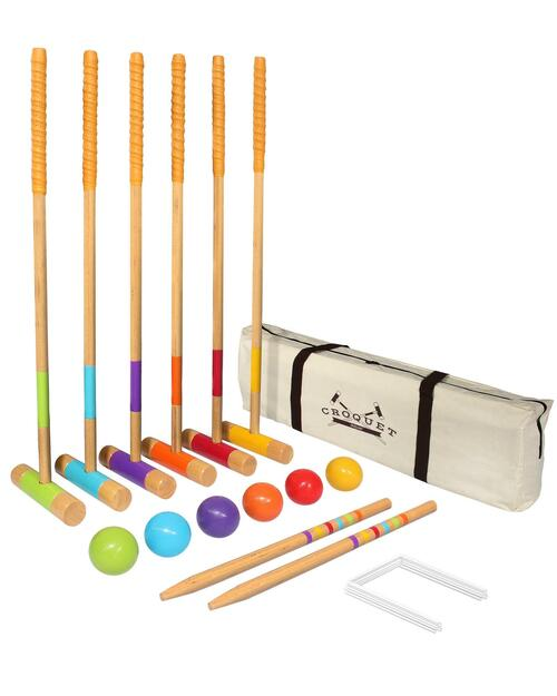 Deluxe Croquet Set View Product Image