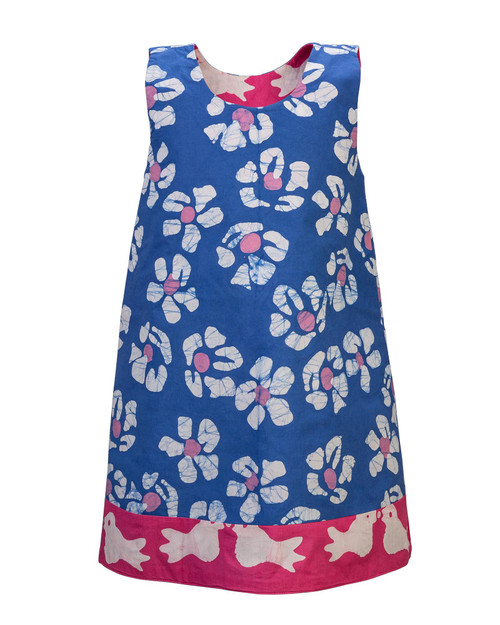 Reversible Tropical Girls Dress View Product Image