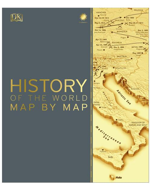 History of the World Map by Map View Product Image