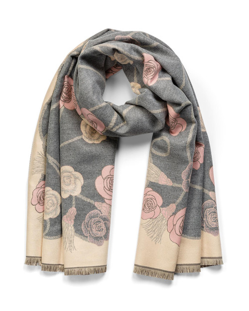Reversible Flower Shawl View Product Image