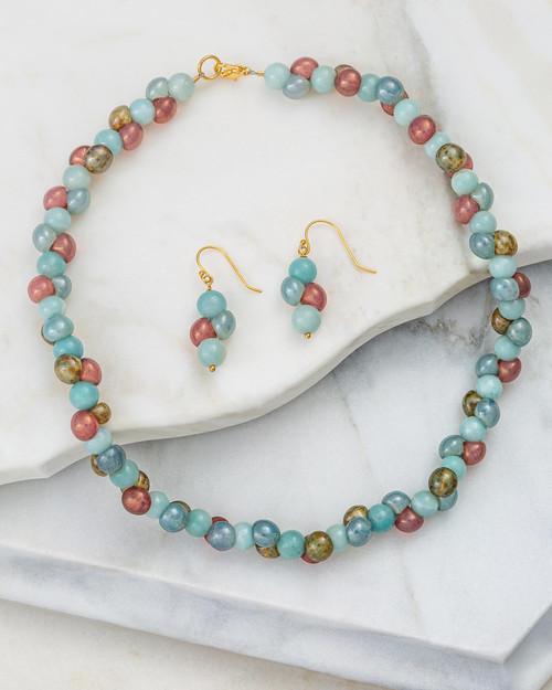 Czech Beads Jewelry Set View Product Image