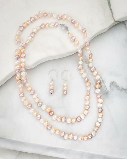 Pastel Pearls Jewelry Set View Product Image