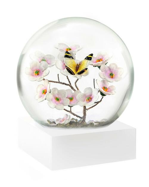 Butterfly on Branch Snowglobe View Product Image