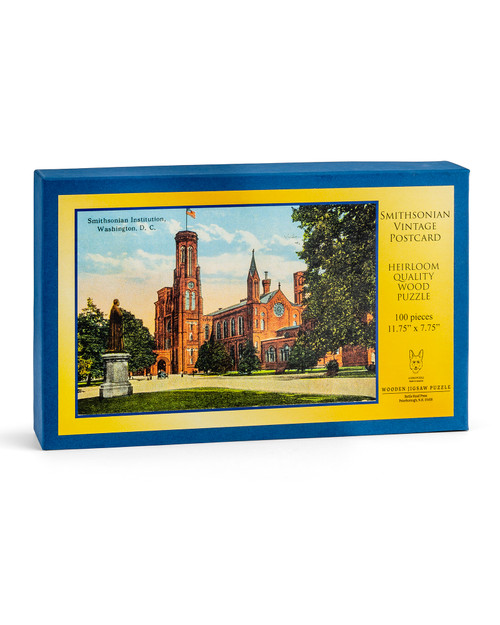 Smithsonian Vintage Wood Puzzle View Product Image