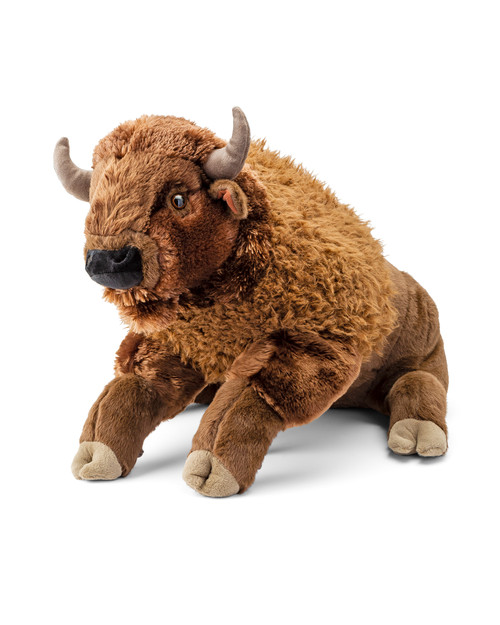 Plush Bison View Product Image