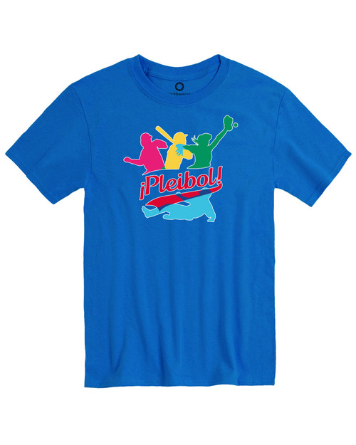 Pleibol Men's Royal T-Shirt View Product Image