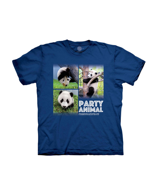 Panda Party Animal Youth T-Shirt View Product Image