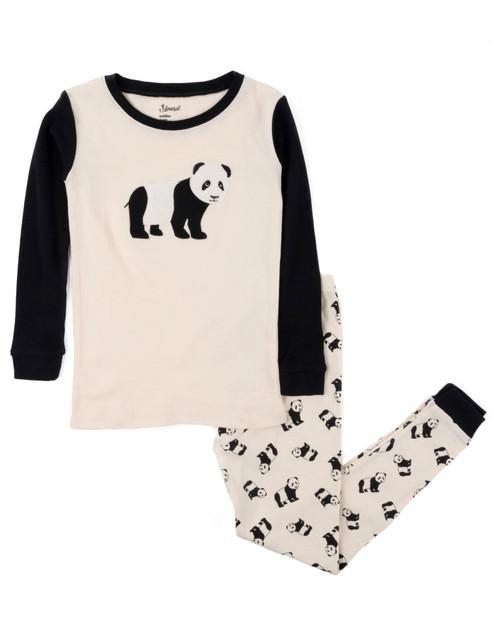 Panda Kids Pajamas View Product Image