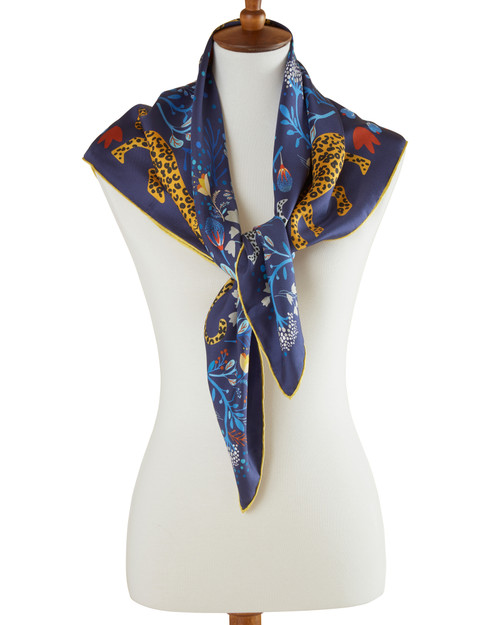 Tropical Forest Silk Scarf View Product Image