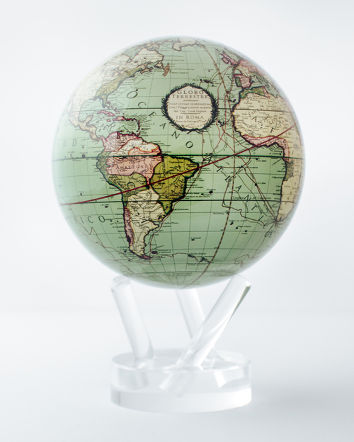 MOVA Antique Earth Globe View Product Image
