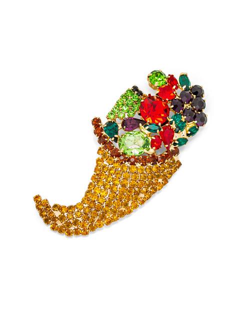 Multi-Colored Cornucopia Pin View Product Image