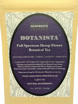 BOTANISTA - Hemp Flower Botanical Tea